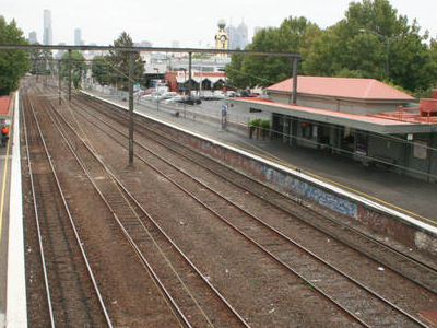 East Richmond Railway Station Melbourne
