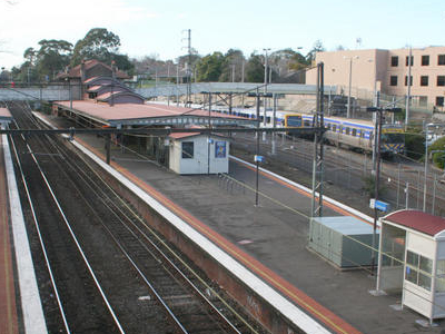 Camberwell Railway Station