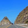 Pacific Coast Highway Passes Mugu Rock At Point Mugu.