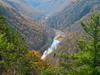 Pine Creek Gorge In Autumn