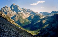 Paintbrush & Cascade Loop Trail- Grand Tetons - Wyoming - USA