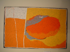 Painting Display In Art Gallery