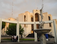 Palace Of Justice At Arequipa