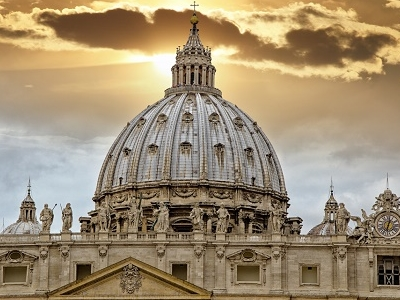 Palace Of The Vatican In Rome - Lazio