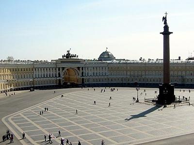 Palace Square In Dvortsovy Municipal Okrug