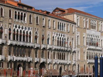 Palazzo Giustinian And Cà Foscari