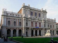 Palazzo Carignano In Turin