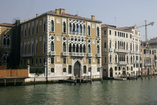 Palazzo Cavalli-Franchetti With Palazzo Barbaro To The Right
