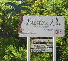 Palmyra Sign