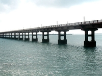 Pamban Rail Bridge Tijeras