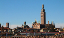 Panorama Of Cremona View Of Cremona