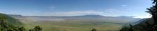 Panorama View Of Ngorongoro Crater.