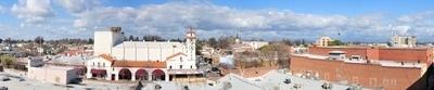 Panorama Of Downtown Visalia
