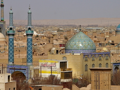 Panorama Of Yazd