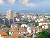 Panoramic View Of Leskovac From The Hisar Hills