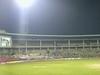 Panoramic View Of Chinnaswamy Stadium Under Lights.