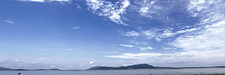 Panoramic View Of River Brahmaputra
