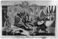 Satiric Drawing Of Sir William Chambers