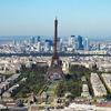 Paris City With Eiffel Tower