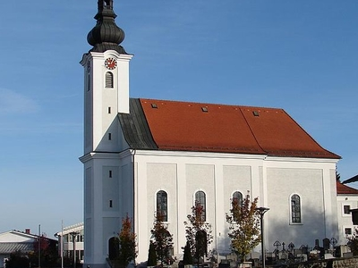 Parish Church-Neuhofen Im Innkreis, Austria