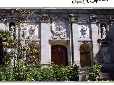Parish Church Of Santa Barbara Convent Of The Salesas Reales And