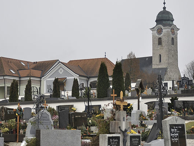 Parish Church Of Wartberg, Upper Austria, Austria
