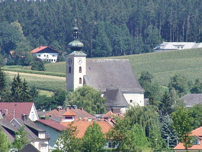 Parish Church-Offenhausen, Upper Austria, Austria