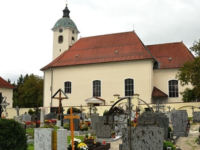 Parish Church-Schiedlberg, Upper Austria, Austria