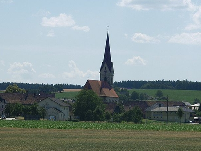 Parish Church-Weisskirchen, Upper Austria, Austria