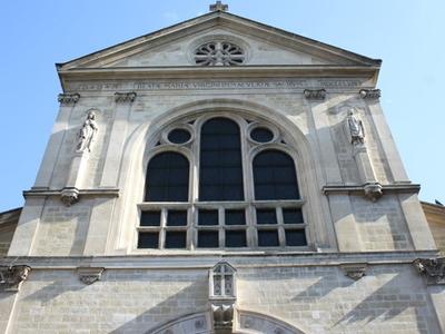 Facade Of Notre-Dame De Clignancourt