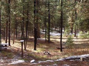 Boise Park Creek Campground