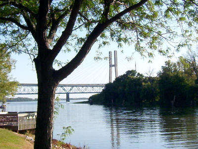 The Bayview Bridge And Memorial Bridge