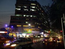 Park Street Nights At Kolkata