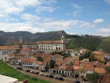 Partial View Of Ouro Preto