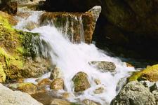 Partington Cove And Canyon Waterfall