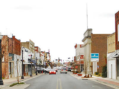 Part Of Conways Historic Downtown