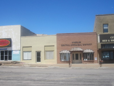 Part Of Downtown Square In  Wheeler