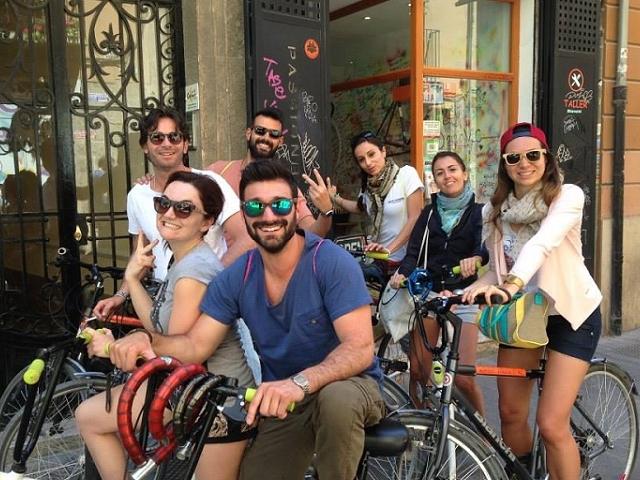 Valencia Beer Bike Tour Photos