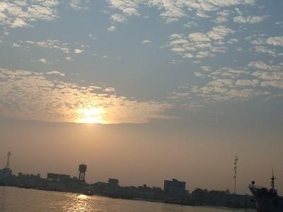 Pasur River Of Bangladesh