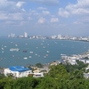 Pattaya Beach From View Point