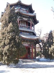 Pavilion At Summer Palace.