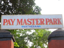 Pay Master Park Signboard - Matheran - Maharashtra - India