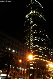 P B Com Towerat Night