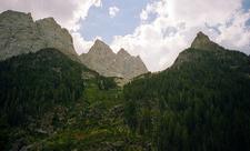 Peaks Along Paintbrush & Cascade Loop Trail- Grand Tetons - Wyoming - USA
