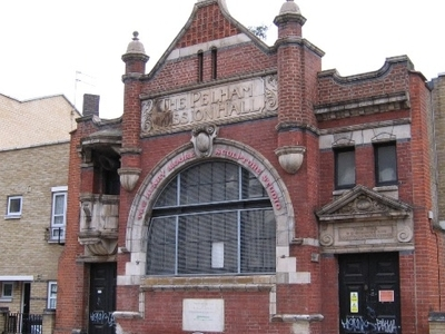 Pelham Mission Hall, Lambeth Walk