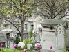 Looking Down The Hill At Pere Lachaise