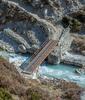 Periche Village Metal Bridge - Sagarmatha NP