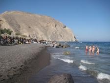 Perissa Beach Santorini5