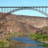 Perrine Bridge Over Snake River