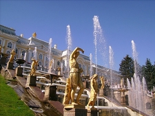 Peterhof Palace Statues & Fountains - St. Petersburg